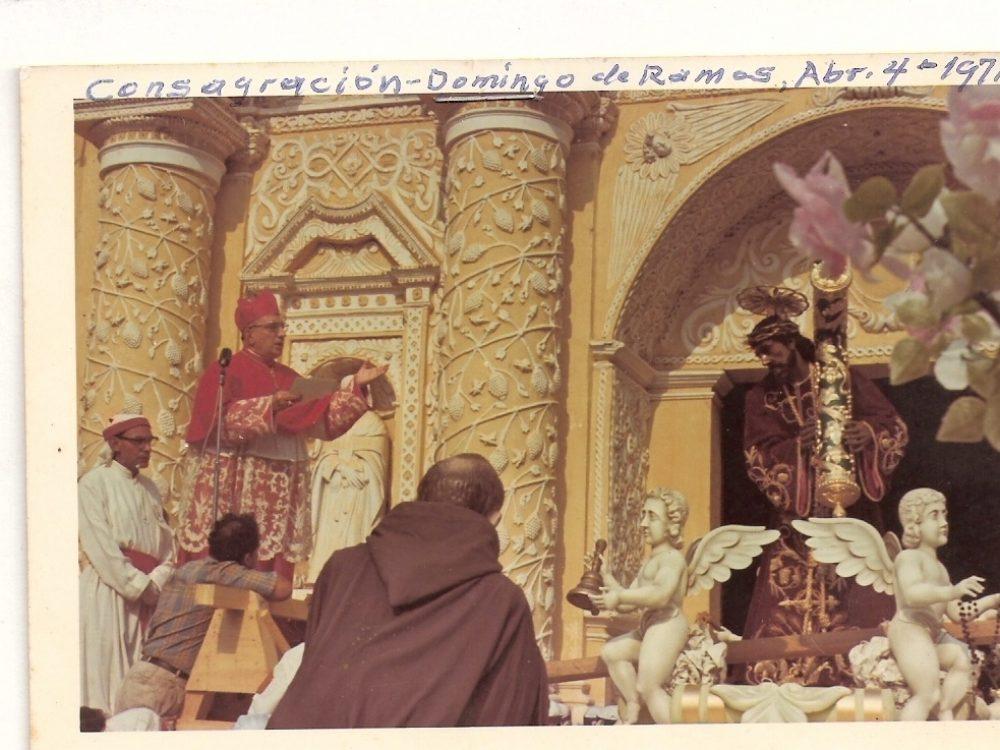 Consagración de Jesús Nazareno de La Merced